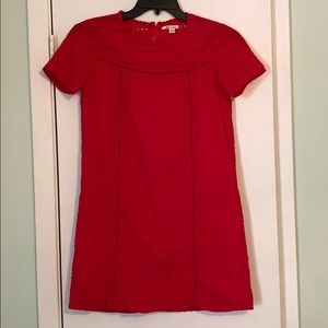 Francesca's Red Dress Size Small